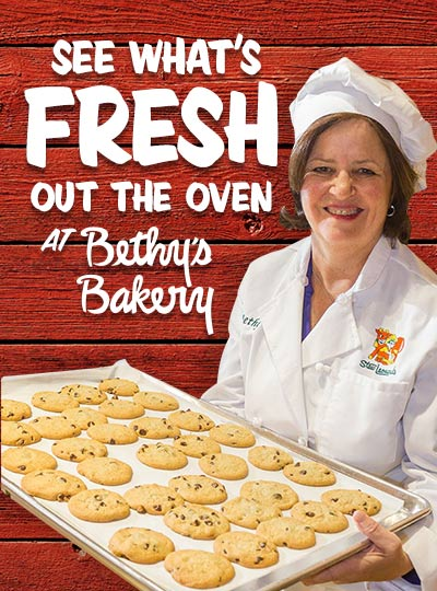 See what's Fresh out the oven at Bethy's Bakery