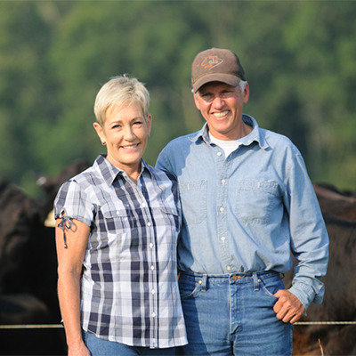 Cooper & Katie Hurst - Our ranchers from Woodville, Mississippi