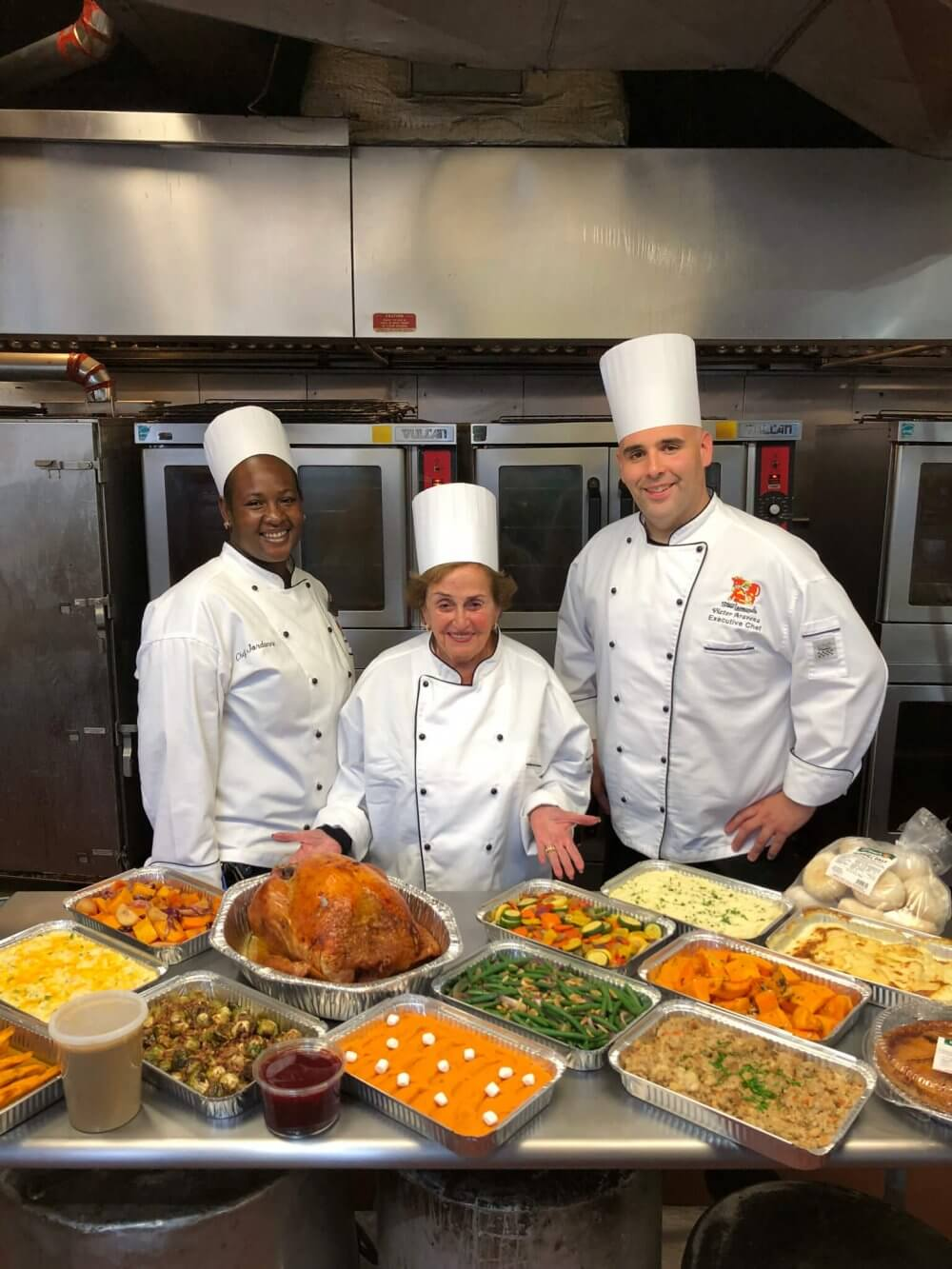 Mrs Leonard & Chefs Thanksgiving 2017