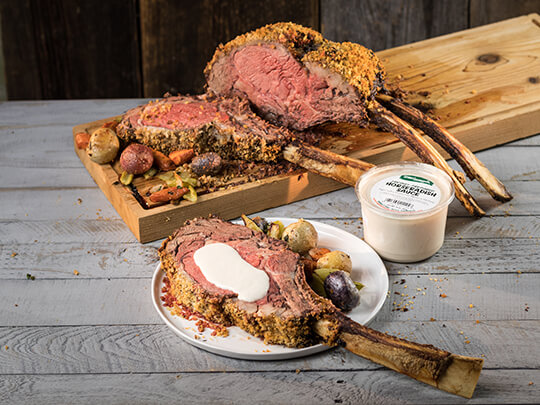Ultimate Tomahawk Rib Roast
