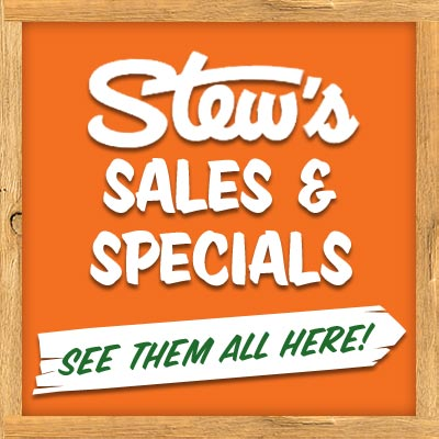 Stew's Sales and Specials. See them all here!