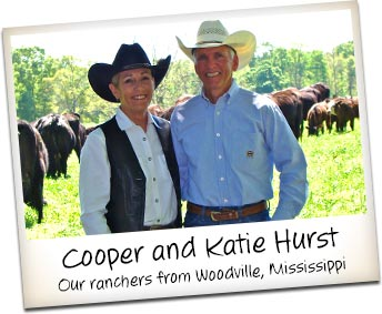 Mississippi Ranchers Cooper and Katie Hurst