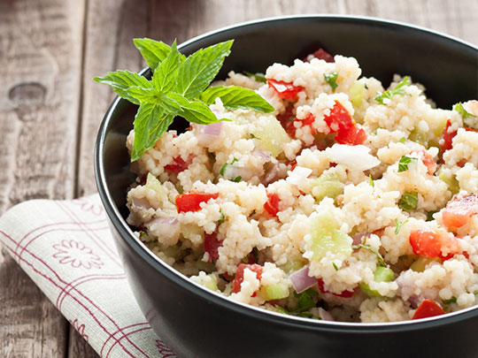 Bowl of Moroccan Couscous